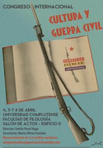 Cartel oficial del congreso. Fuente: Facultad de Filología de la UCM
