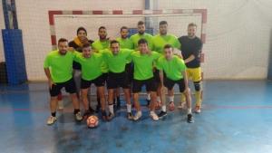 """Equipo Geografía 2.0 campeón del Trofeo Rector de fútbol sala """"Intercentros""""."""