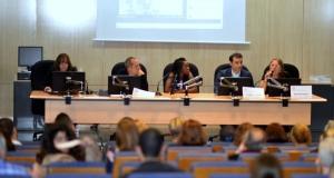 Imagen de la primera sesión sobre los diseñadores de moda y las industrias del sector. Fuente: Miguel Ángel Mykel