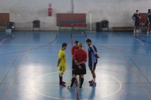 Comienzo de la final del campeonato universitario de Canarias.