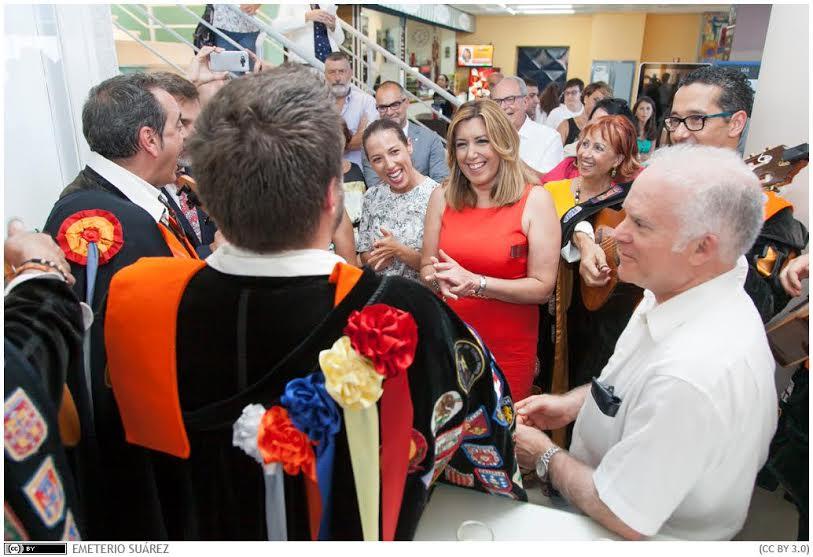 Susana Díaz, en la inauguración de la Universidad de Verano de Adeje
