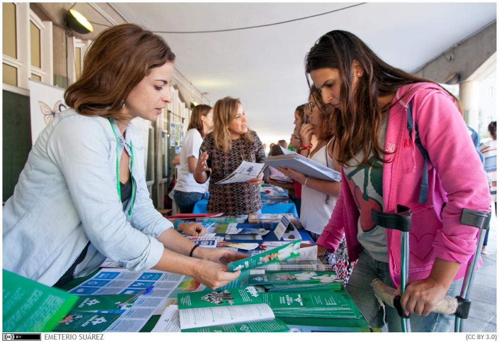 El Campus de Guajara acoge la I Feria de la Solidaridad y el Voluntariado