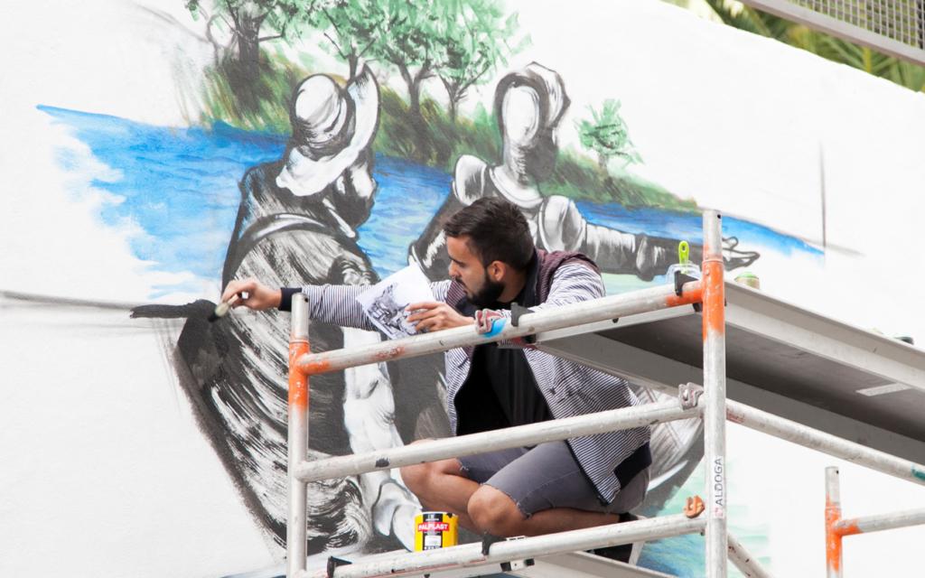 Grafitis cervantinos