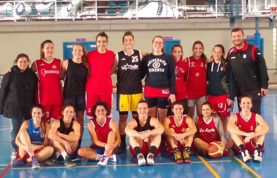 Finalistas del Trofeo Rector de Baloncesto femenino