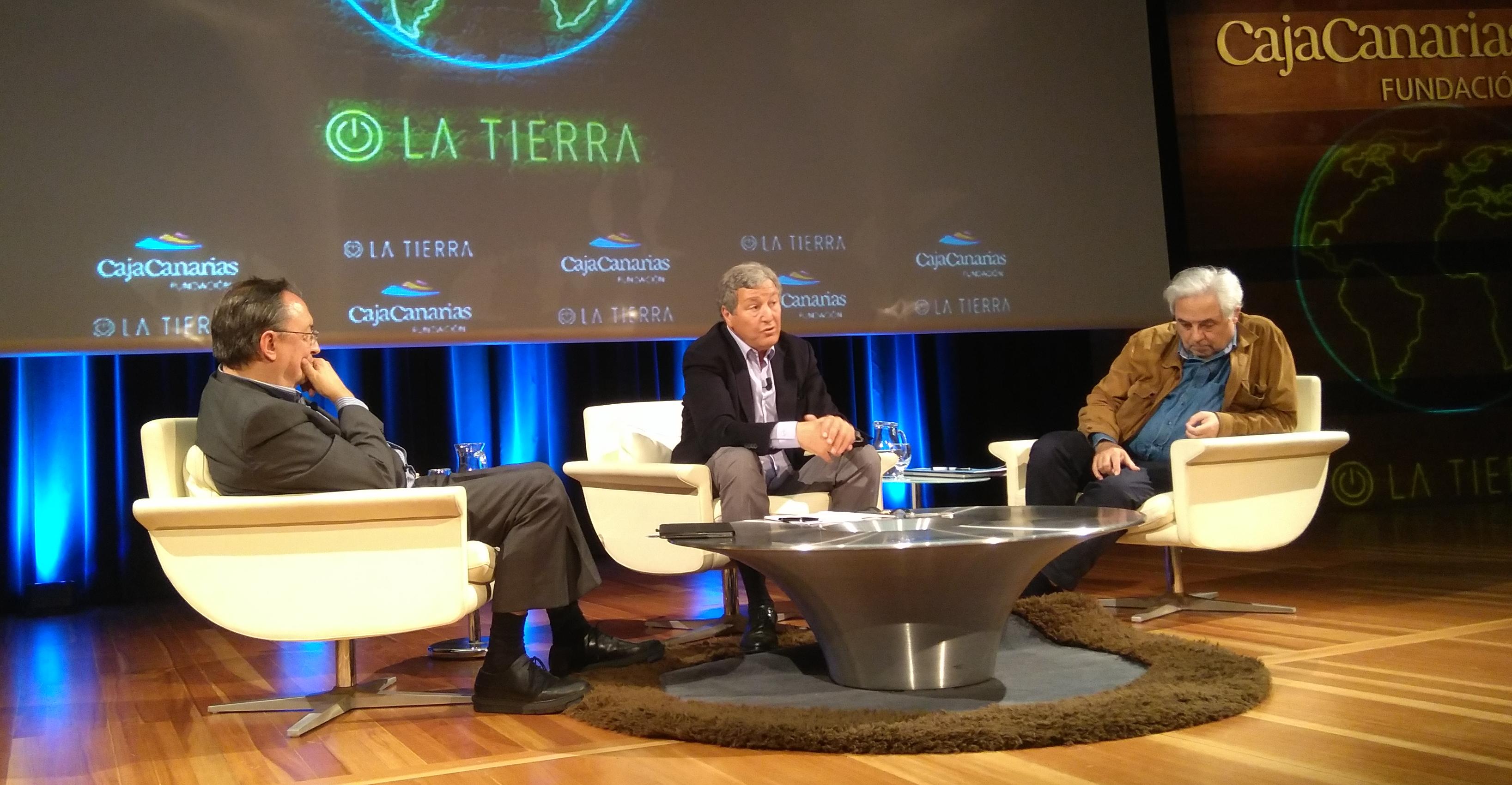 conferencia Enciende la Tierra CajaCanarias