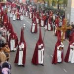 Paso procesional en La Laguna
