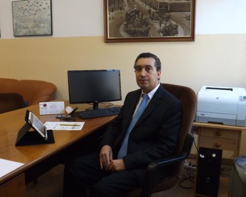 Jalel Mahouachi, subdirector de Promoción Exterior, Investigación y Coordinación Docente de la Escuela Politécnica Superior de Ingeniería y subdirector responsable de la Coordinación Docente de la Sección de Ingeniería Agraria