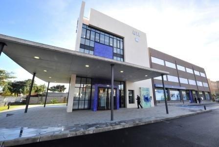 Edificio Caja Canarias en Anchieta. Foto: ULL.