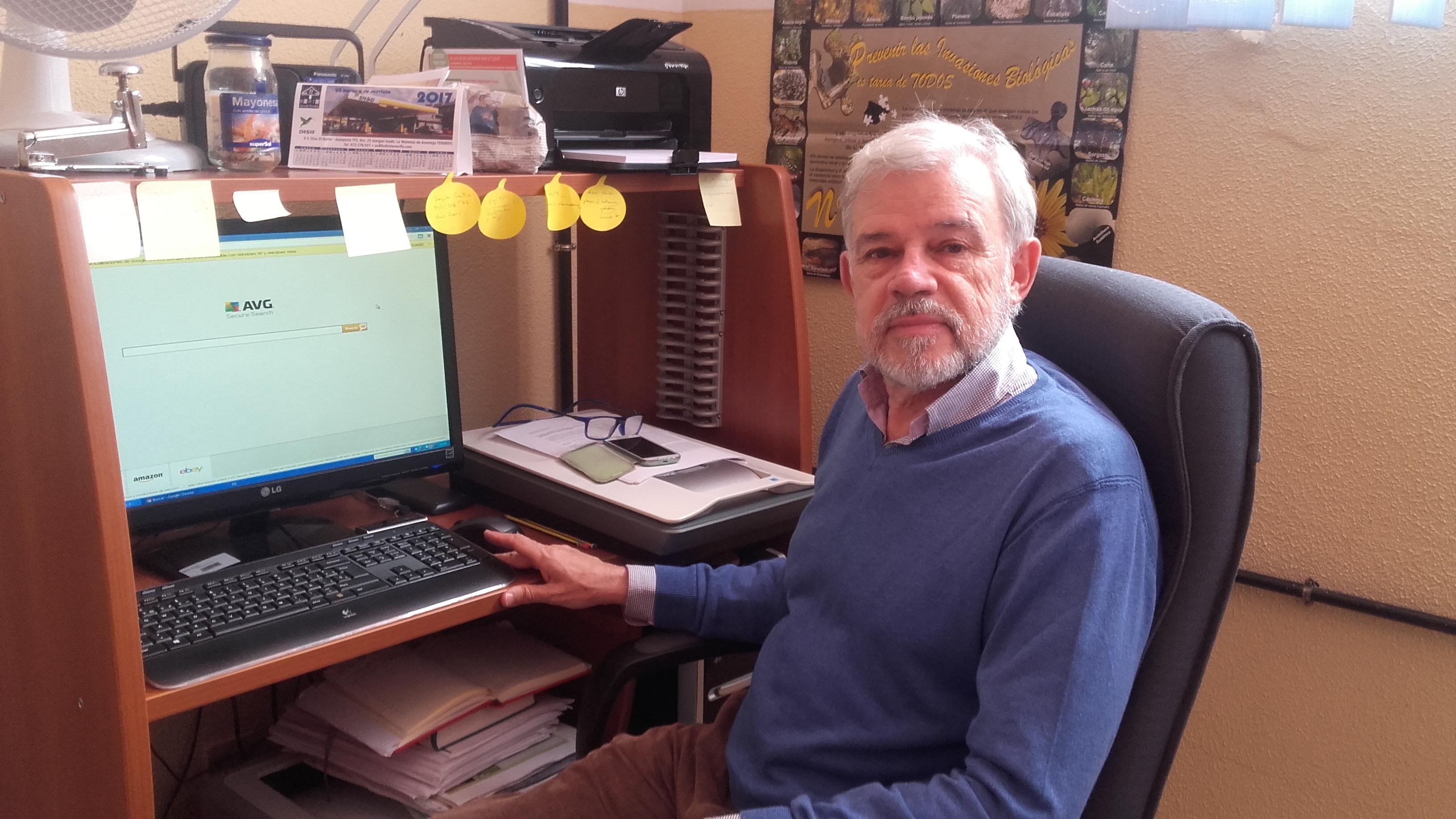 Eduardo Sobrino Vesperinas, profesor de Ingeniería Agraria.