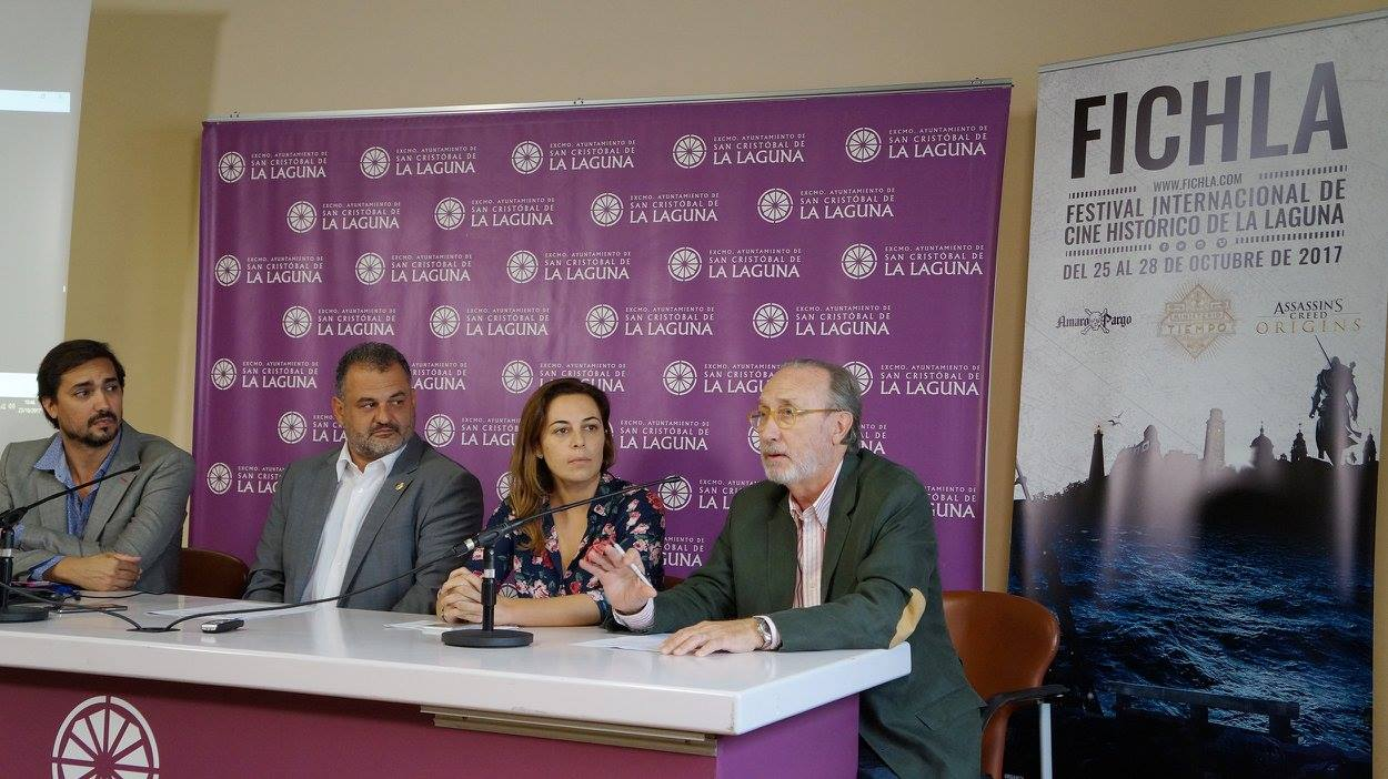 Rueda de prensa de presentación de FICHLA 2017