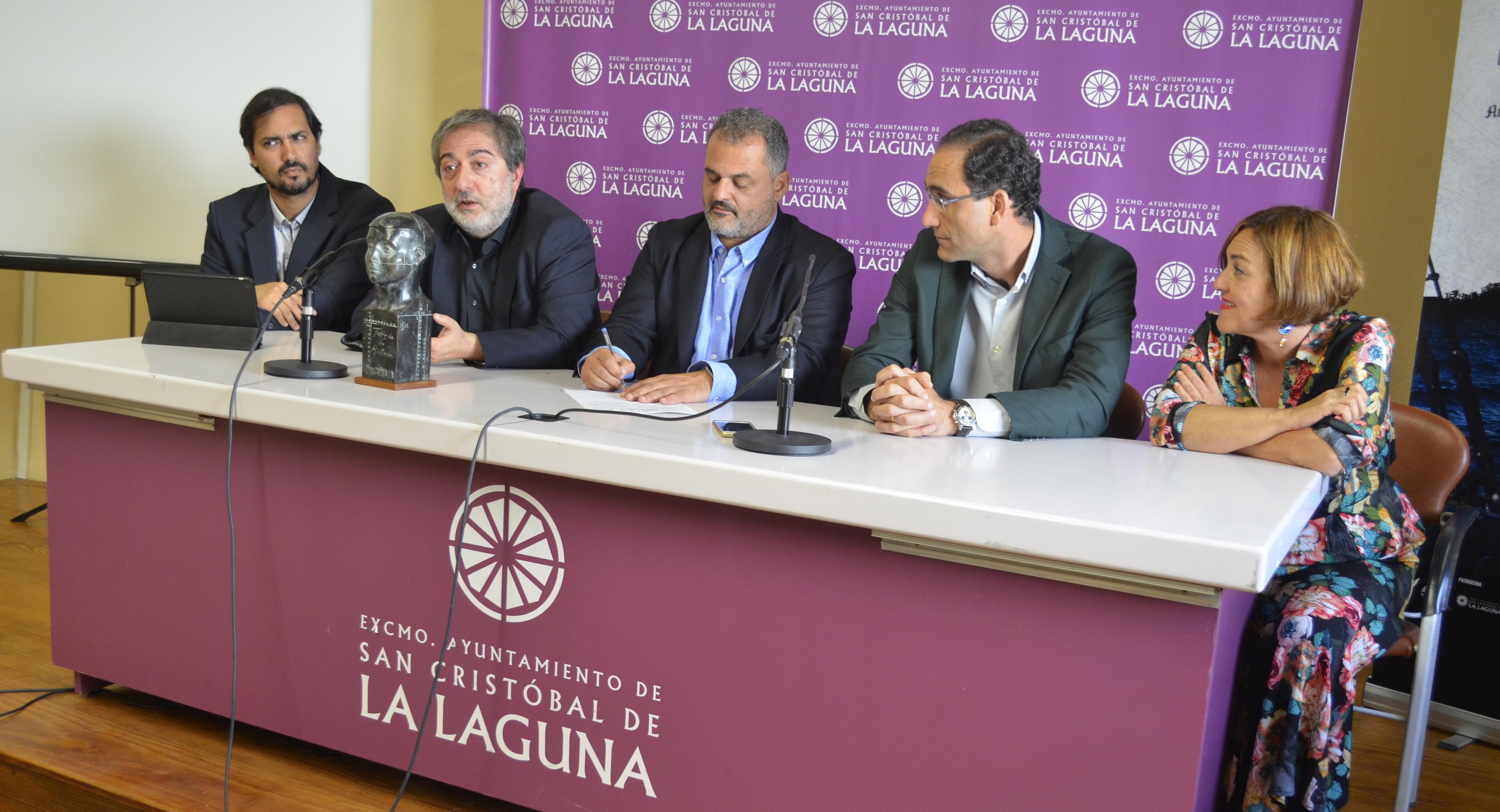Rueda de prensa de RTVE y 'El Ministerio del Tiempo' en FICHLA