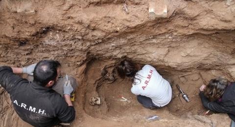 Exhumación en Guadalajara / Asociación para la Recuperación de la Memoria Histórica