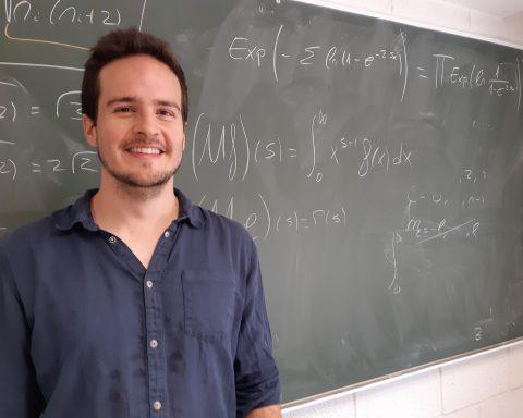 Juan Margalef en las Secciones de Física y Matemáticas de la ULL.