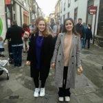 Amigas con abrigos largos FOTO: Sergio Lorenzo