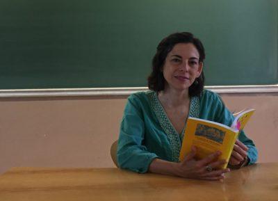 Inmaculada Blasco, profesora de la facultad de Geografía e Historia. Foto: Laura Matías