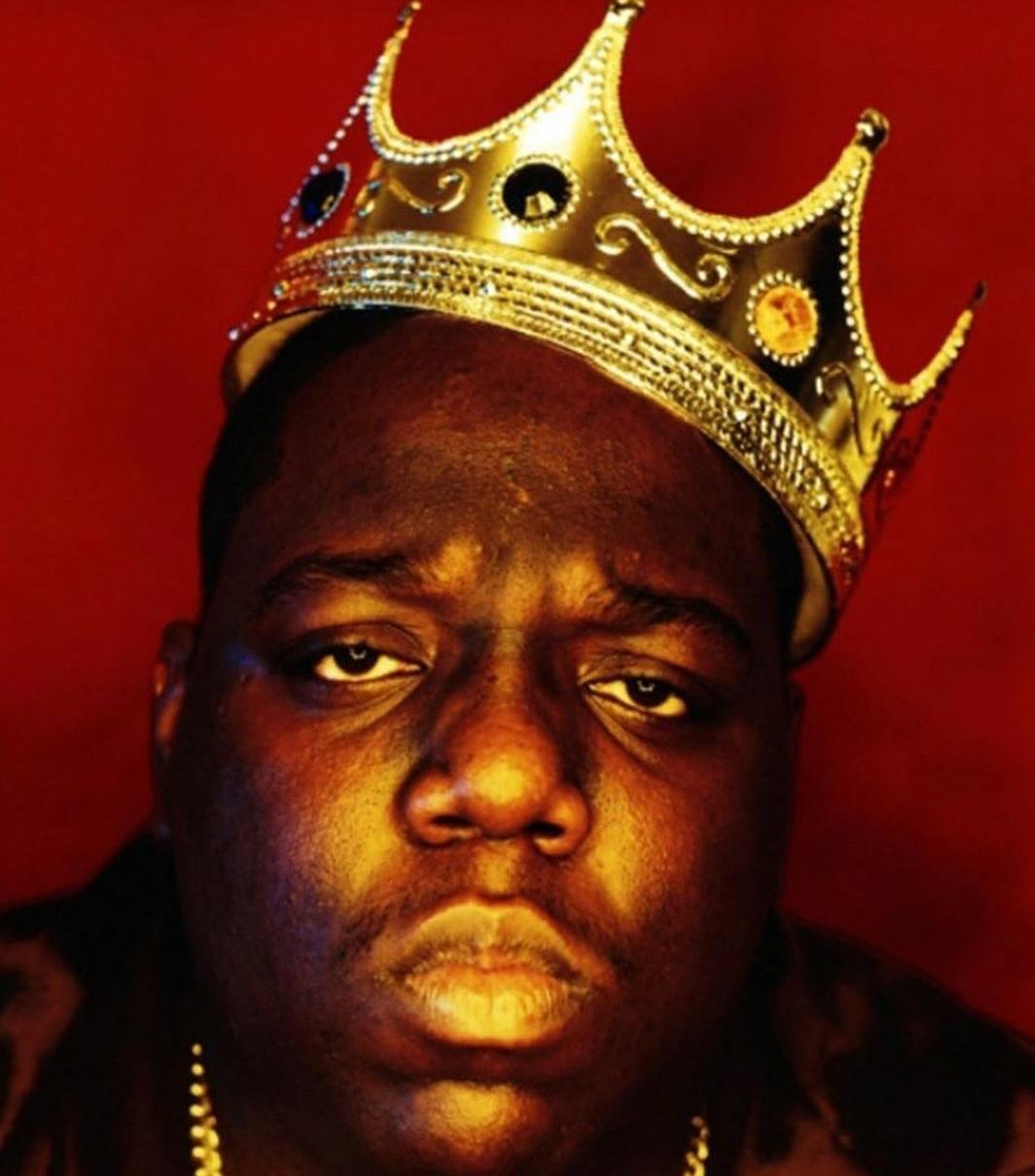 Biggie Smalls coronado como Rey del rap. Foto: PULL