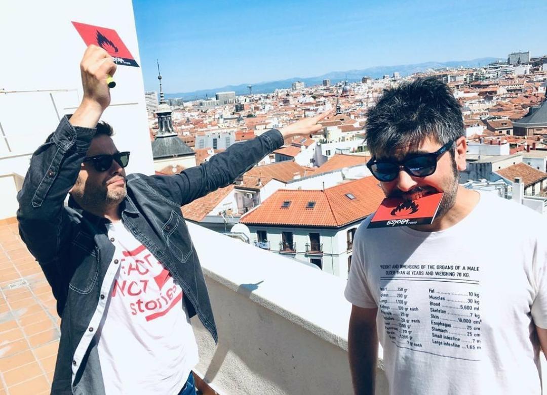 José y David Muñoz promocionando su último álbum Foto: PULL
