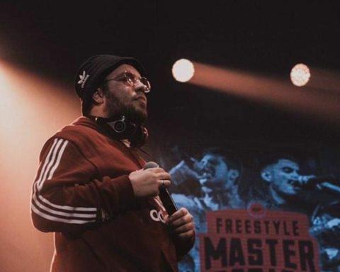 Mr. Ego en el escenario de la FMS. Foto: PULL