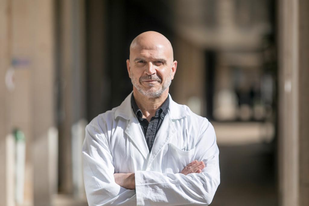 Ángel Acebes Vindel coordinador del grupo de investigación.