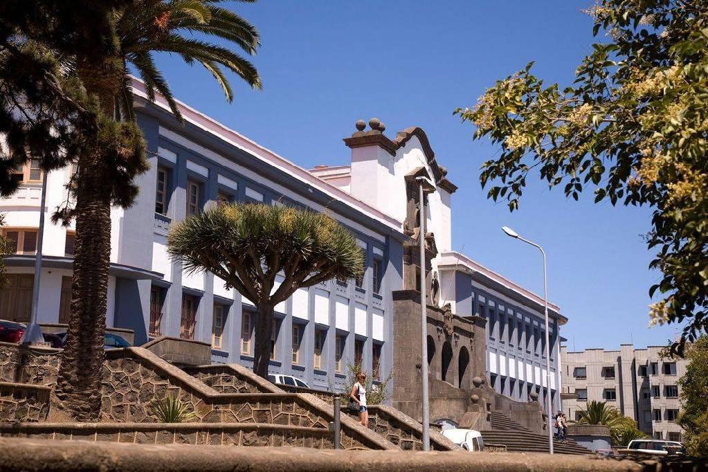 Aulario Central de la ULL. Foto: PULL.