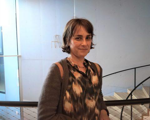 Sara Mesa visita Tenerife por cuarta vez como invitada para hablar de su obra. / Foto: Texeneri L.C
