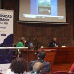 El acto de apertura de la Universidad de Verano de La Gomera se llenó de personas interesadas en el programa. Foto: Raida Peig