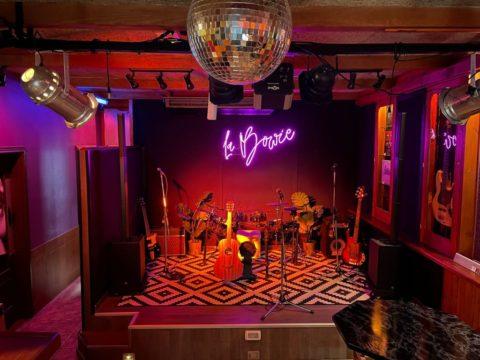 Escenario del bar La Bowie. Foto: Aura Padilla