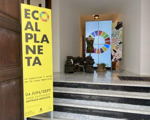 La presentación cuenta con el apoyo de la presidenta del Cabildo de Lanzarote, María Dolores Corujo. Foto: Claudia E.S.